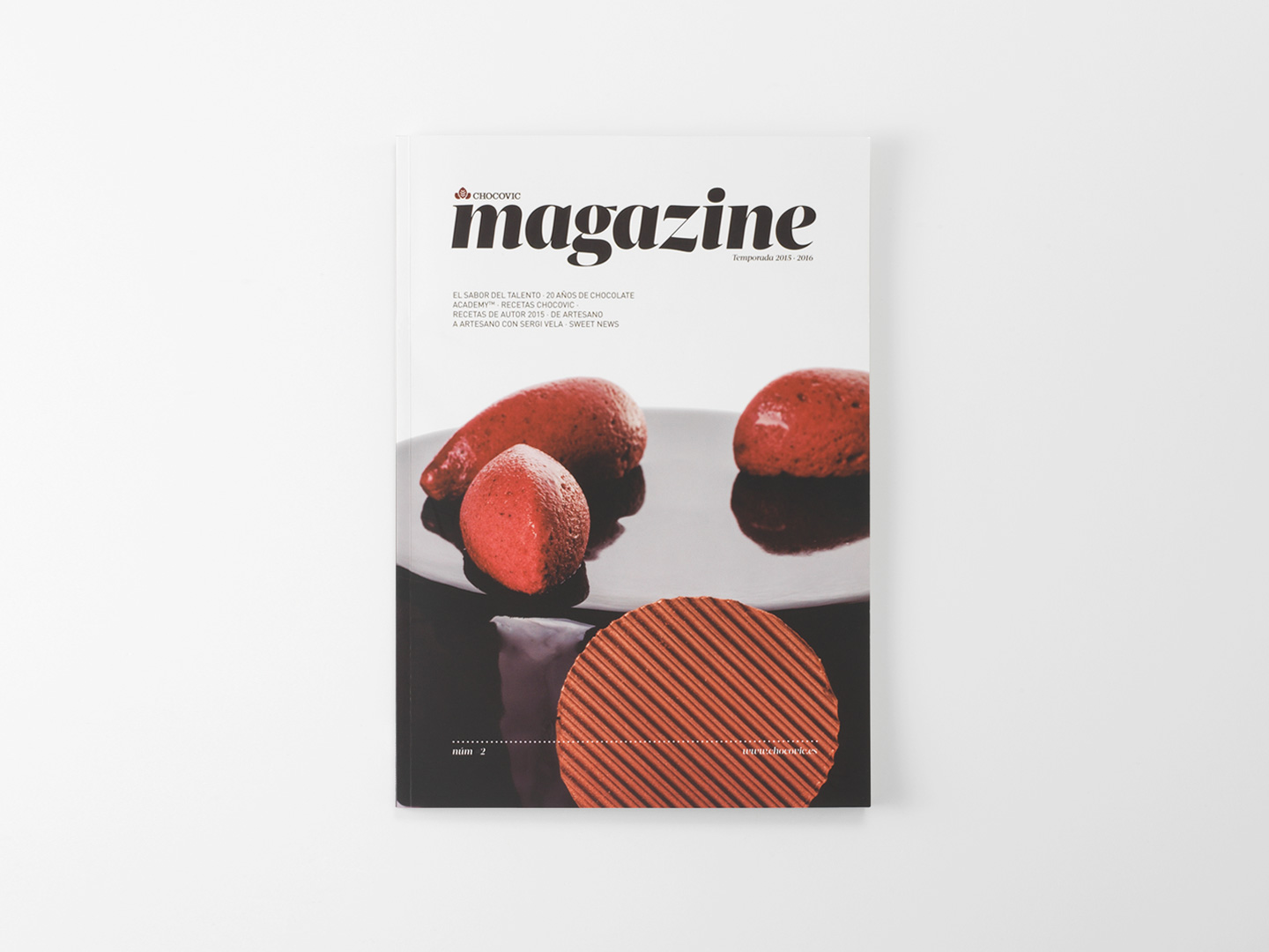 Cover of the Chocovic Magazine