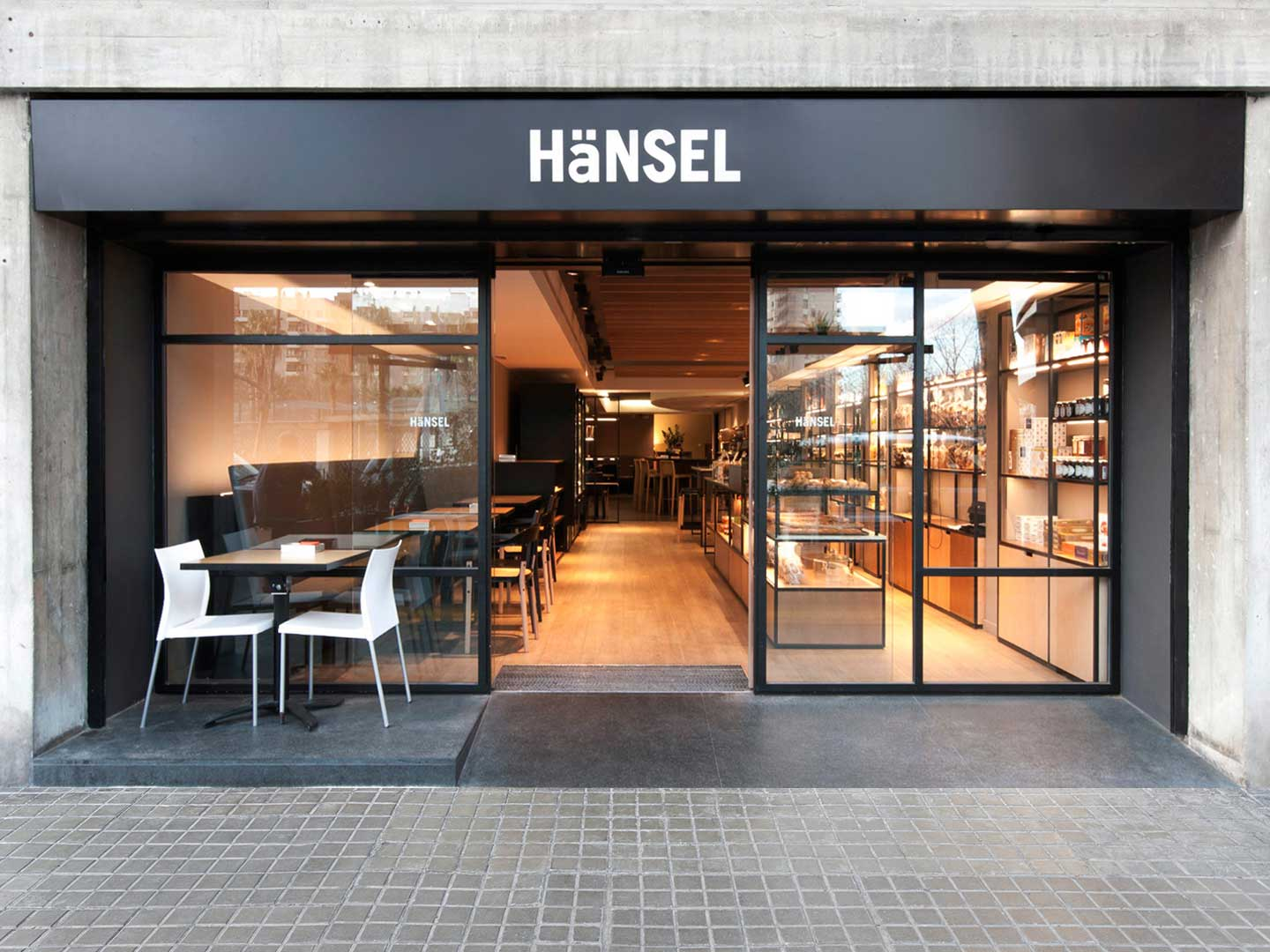 Hänsel cafe entrance